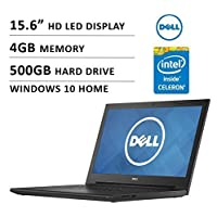 2016 Dell Inspiron i3542-0000blk 15.6 Premium High Performance Laptop, Intel Celeron Dual-Core Processor 2957U, 4GB, 500GB, HD LED-backlit Display, WiFi, HDMI, Bluetooth