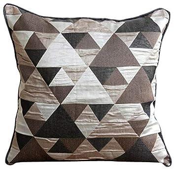 Amazon.com: Diseñador café fundas de almohada decorativo ...