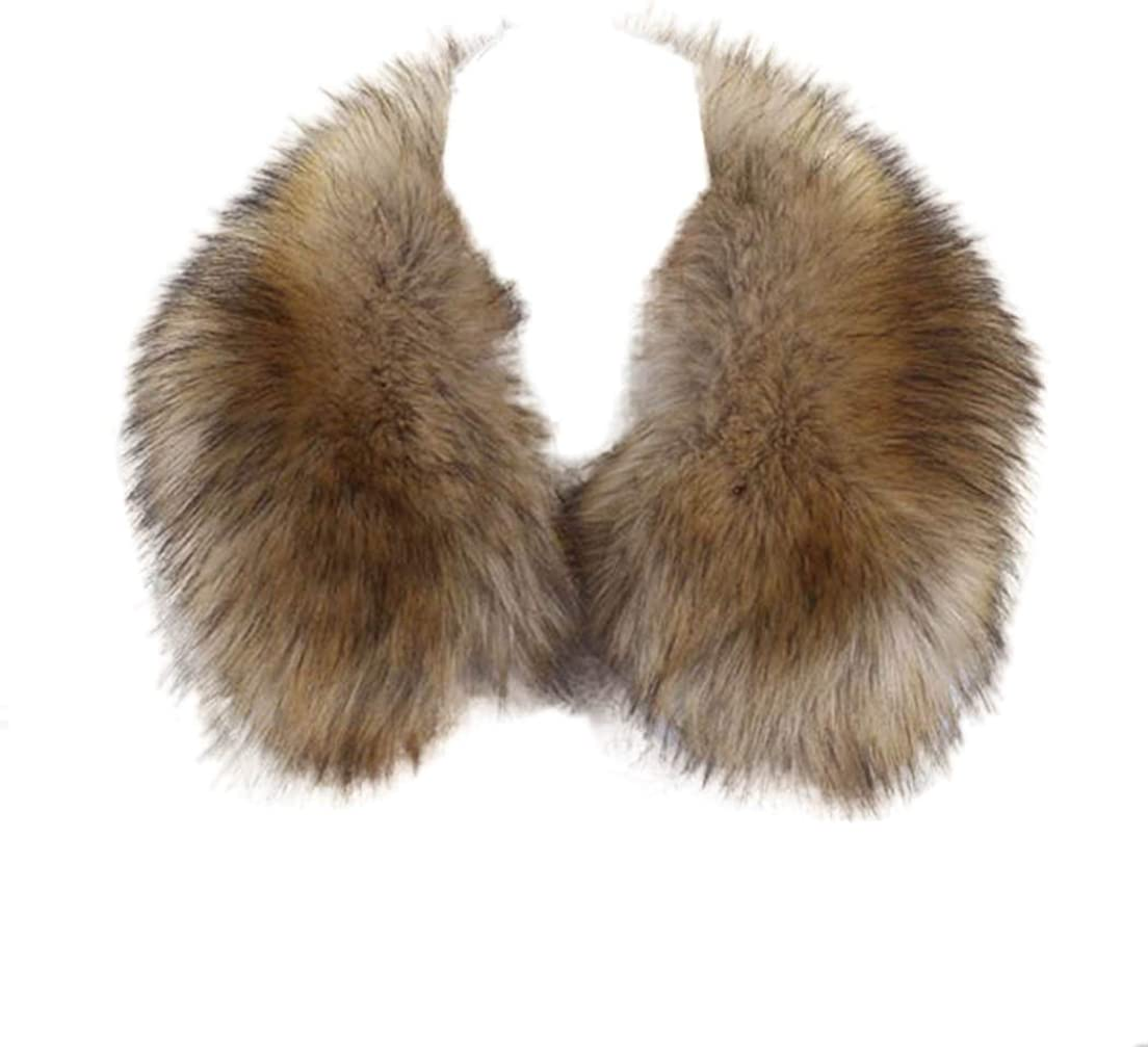 Tngan Faux Fox Fur Collar...
