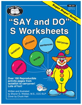 Counting Number worksheets free syllable worksheets : Say and Do® S Worksheets: Over 100 reproducible activity pages ...