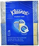 Kleenex Facial Tissue - 55 2-ply Box, 4 Pack,Designs may vary