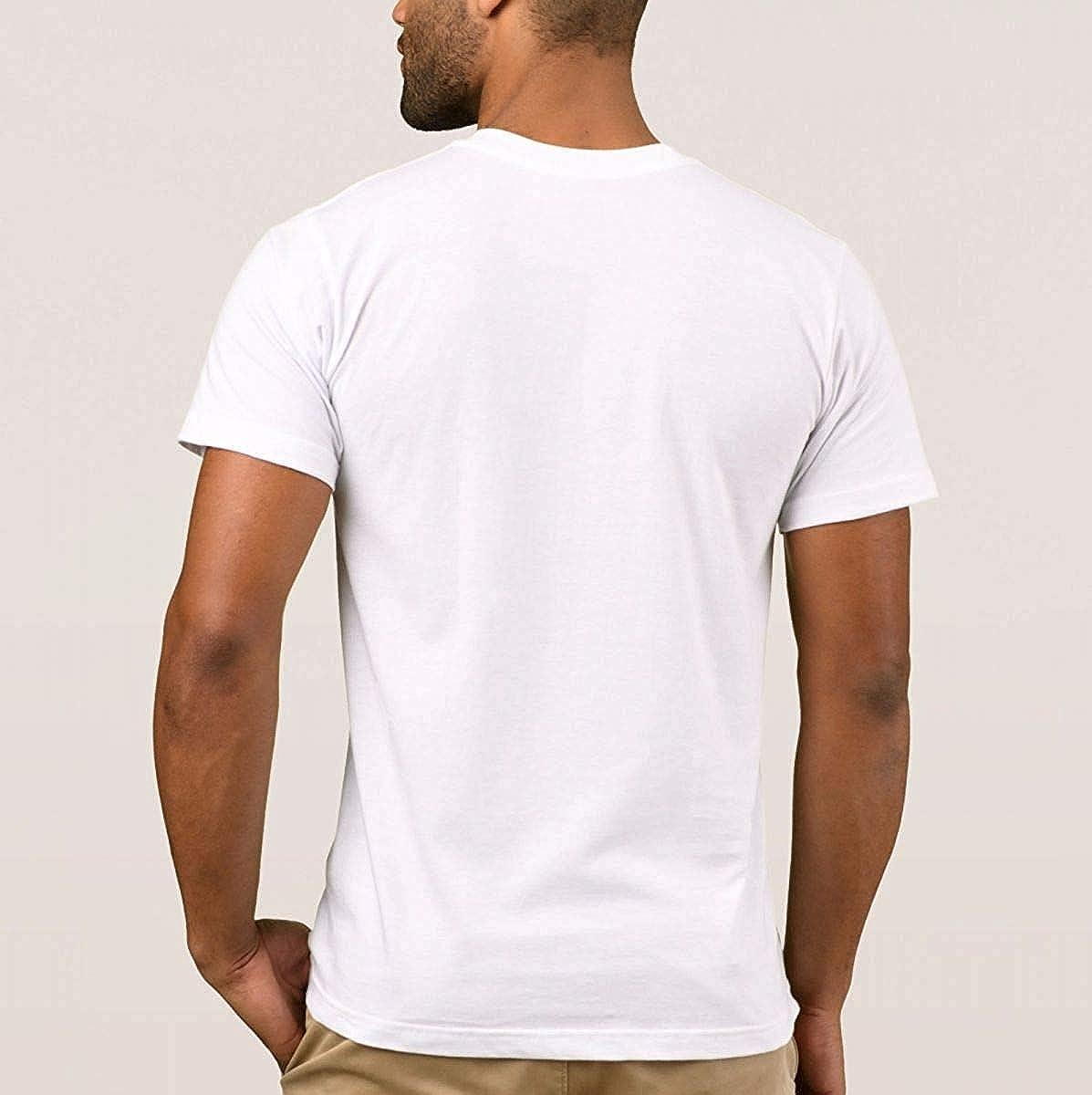 Mens Short-Sleeve Crew Neck Cotton Stretch T-Shirt Big Apple wear Design p PinkX-Large