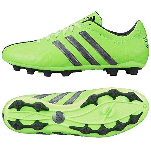 アディダス(adidas) 日本人仕様 サッカースパイク 26.5cm パティーク 11コアージャパン pathiqe 11 JAPAN HG 国内正規品 S78559 ソーラーグリーン