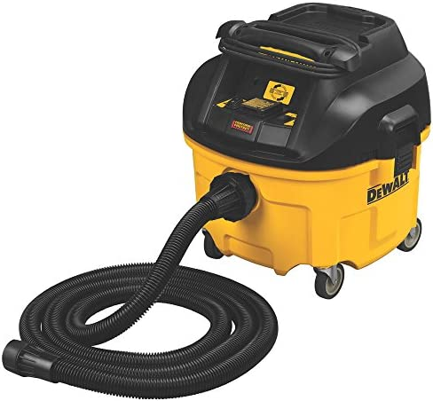 DEWALT DWV010 HEPA Dust Extractor with Automatic Filter Cleaning, 8-Gallon by DEWALT