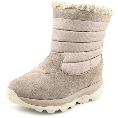 Bounce Shoe Ultra GOdri Skechers Natural Women Waterproof Winter Boot wxtn1Sv