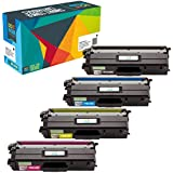 Do it Wiser TN436 TN 436 TN433 TN431 Compatible Toner for Brother MFC-L8900CDW HL-L8260CDW HL-L8360CDW HL-L8360CDWT MFC-L8610CDW MFC-L9750CDW | 4 Pack - 6,500 Pages Extra HIGH Yield