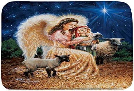 Happy Event Frohe Weihnachten Willkommen Fußmatten   Indoor Home Teppiche Dekor 40x60CM (A)