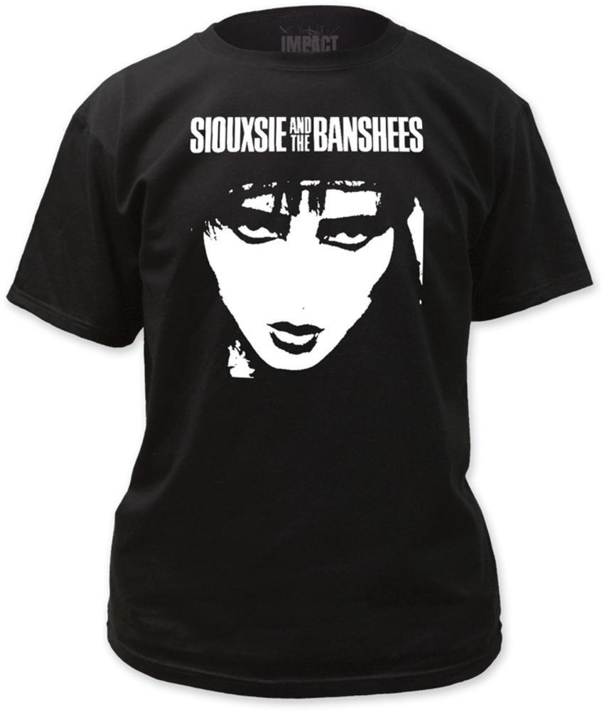 Siouxsie The Banshees Face Tshirt L