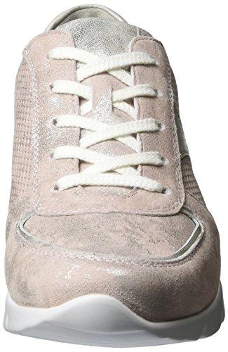 Semler Damen Nelly Sneaker Rot (rose-panna)