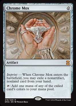 Magic: the Gathering - Chrome Mox (219/249) - Eternal - T Mox