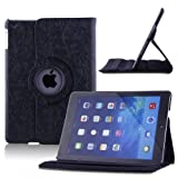 Eleption iPad Air Case,360 Degree Rotating Stand Case with Smart Cover Auto Sleep / Wake Feature for 9.7 inch Apple iPad Air (iPad 5 5th Generation)
