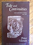 Tide and Continuities, Peter Viereck, 1557283141