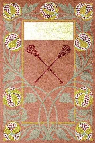 Monogram Lacrosse Journal: Blank Notebook Diary Log (Monogram NouveauThree 365 Lined) [Idioma Inglés] por N.D. Author Services
