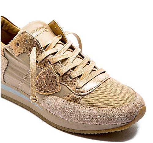 1121 Pelle Model Modello Oro Tropez Tela E Trld Donna Philippe Sneaker In Colore nY7dWSSqw