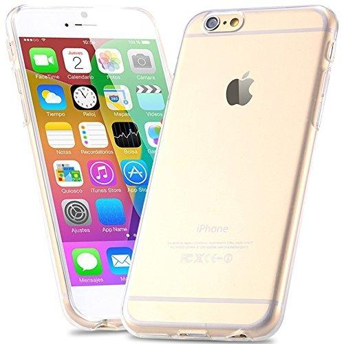 GBOS® Véritable New Ultra mince couverture Effacer Doted Gel de peau cas pour Apple iPhone 5C avec protecteur d'écran gratuit (spécialement fabriqués - Qualité Premium)