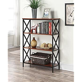 Convenience Concepts Tucson 4 Tier Bookcase, Cherry