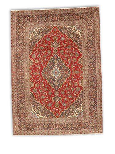 - New, Red, Persian Kashan 8' 8
