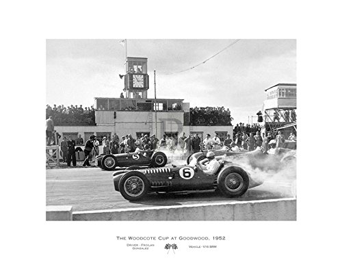 The Woodcote Cup at Goodwood, 1952 Poster Print by Alan Smith (28 x 22)