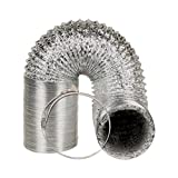 DuraBreeze Professional Ducting Kit, 8'' x 25' with 2 Clamps