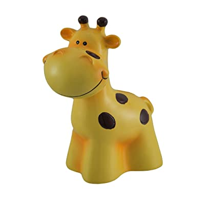 Blowfish Malibu Whimsical Yellow Giraffe Bank Piggy Bank Money: Toys & Games
