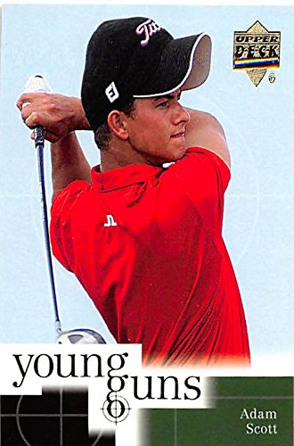 (Adam Scott Trading Card (Golf) 2001 Upper Deck Young Guns #70 )