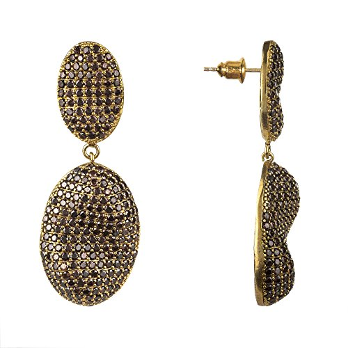 Cannes Earring Chocolate CZ