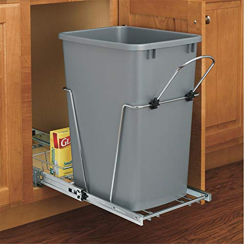 OKSLO Rev-a-shelf 35 quart pull-out waste container