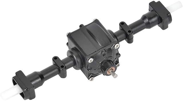 Metallgetriebe Differentialachse Kompatibel mit FY004 Q64 Q60 WPL B36 MN77 6-Rad RC Car RC-Getriebe Vorderachse 1//16 Kunststoff Hinterachse