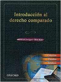 Introduccion al derecho comparado: Amazon.es: Zweigert