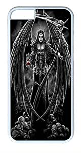 ACESR Angel Of Death iPhone 4 4s Hard Shell Case Polycarbonate Plastics Nice Case for Apple iPhone 4 4s White