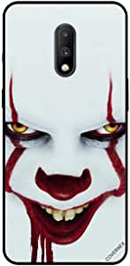 For OnePlus 7 Case Cover White Face Joker