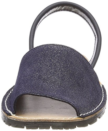 Tamaris Women's 28916 Sling Back Sandals Blue (Navy Glam) Wz5HfQpID