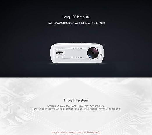 Proyector - configurado a WiFi, Bluetooth. 1280x720 píxeles ...