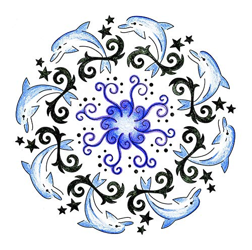 Ravensburger 2-In-1 Mandala-Designer Tattoo by Ravensburger (Image #1)
