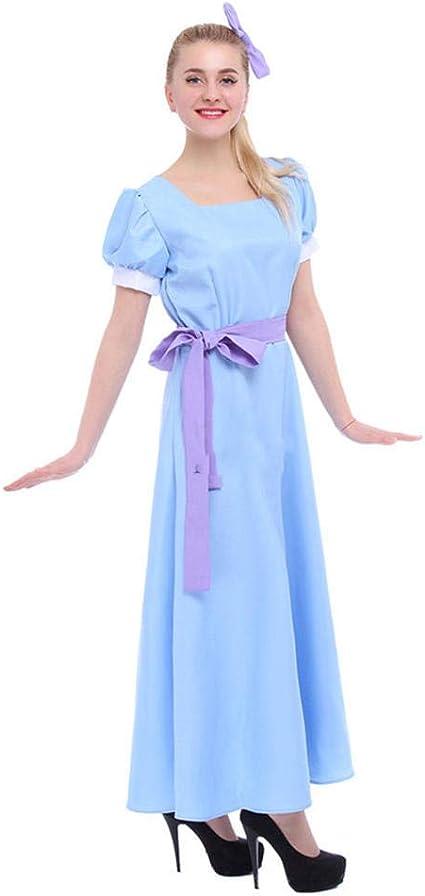 CHANGL Peter Pan Wendy Vestido Rachel Disfraces de Cosplay Anime ...