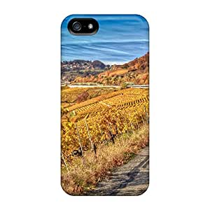 Defender Case For Iphone 5/5s, Vinyards In Lavaux France Hdr Pattern