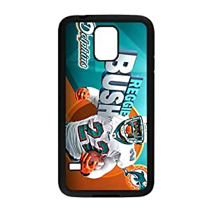 miami dolphins Phone Case for Samsung Galaxy S5 Black