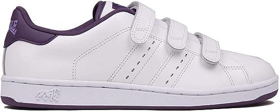 Lonsdale Damen Fulham Klettverschluss Turnschuhe Freizeit Sneaker Sport Schuhe
