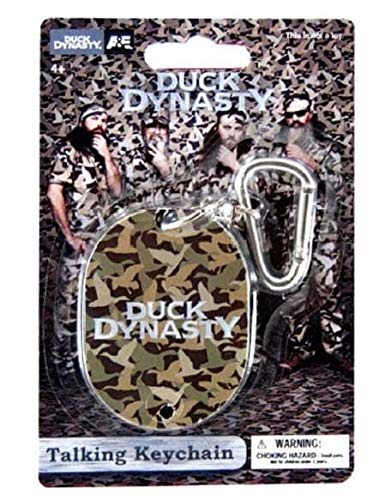 Duck Dynasty Talking Keychain Commonwealth Toys 94497