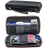 Digicharge Universal Electronics Travel Organizer Carrying Case Cables Plugs Earphones Flash Hard Drive Power Bank Camera SD Cards USB Pens Passport Portable Printer Gadgets Small Accessories GPS