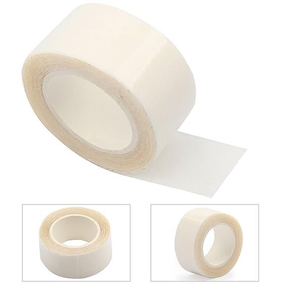 Cinta Transparente Adhesiva de Doble Cara Moda Modestia Teta Teta Cuerpo Ropa Peluquín Cinta De 1,5 Cm X 3,0 M para Mujer: Amazon.es: Oficina y papelería