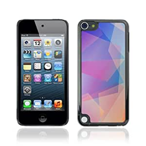 CQ Tech Phone Accessory: Carcasa Trasera Rigida Aluminio Para Apple iPod Touch 5 - Cool Abstract Pastel Pattern