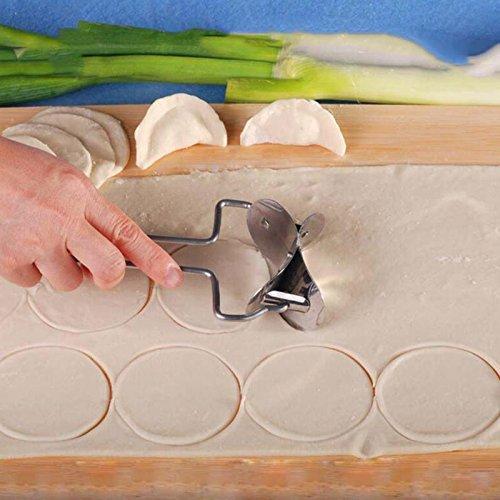 Circle Dumpling Wrapper Cutter Making Machine Stainless S...
