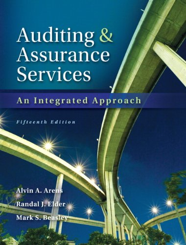 Auditing And Assurance Services With Acl Software Cd  15Th Edition