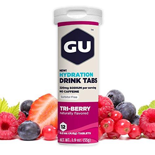 GU Hydration Electrolyte Tablets Tri Berry