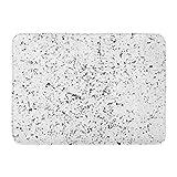 Emvency Doormats Bath Rugs Outdoor/Indoor Door Mat Urban Dust Overlay Distress Grain Simply Place Over Any Object to Create Grungy Effect Abstract Bathroom Decor Rug 16' x 24'