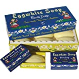 Eggwhite and Chamomile Facial Soap 6 Bar Gift Set by Belgian Soaps