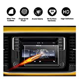 2016 2017 2018 Volkswagen VW Beetle 6.3'' Composition Media Touch Screen Car Display Navigation Screen Protector, R RUIYA HD Clear TEMPERED GLASS Protective Film