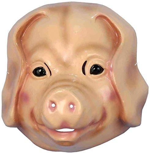 Sheep Child Mask (Forum Novelties Child's Plastic Animal Mask,)