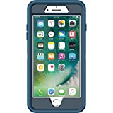 OtterBox DEFENDER SERIES Case for iPhone 7 Plus (ONLY) - Retail Packaging - Bespoke Way (Blazer Blue/Stormy Seas Blue)